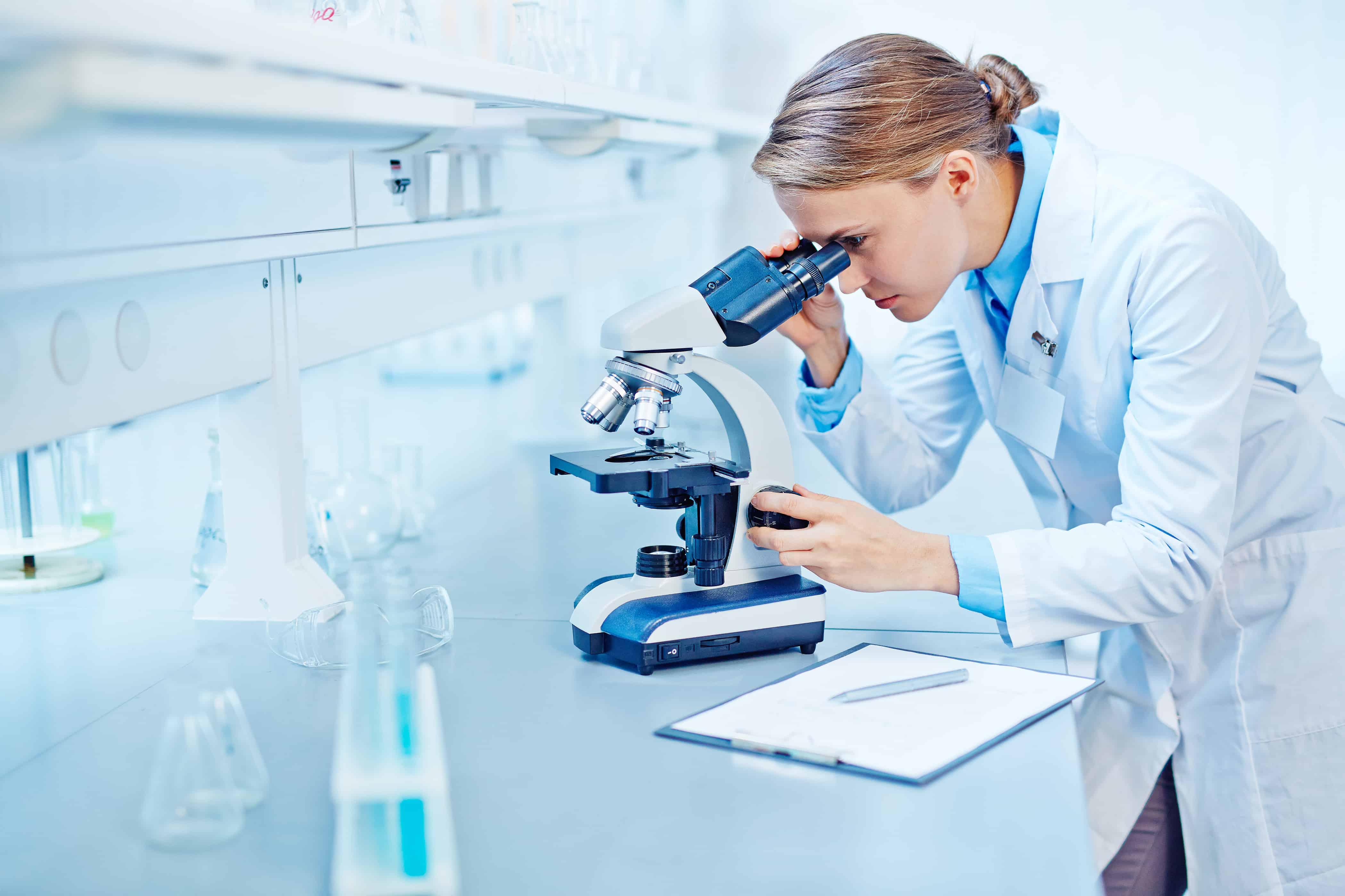 Studying new virus